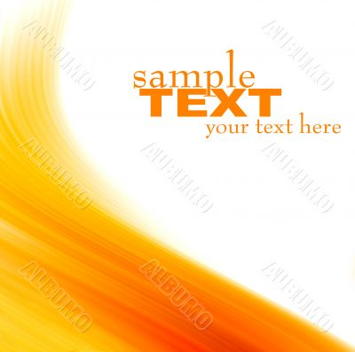 orange abstract background texture