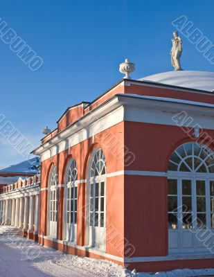Russian manor house