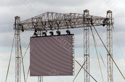 Gigantic Outdoor Screen