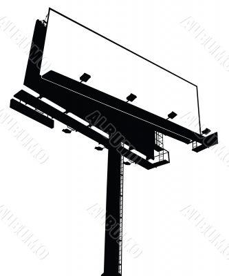Billboard Sign - Clear