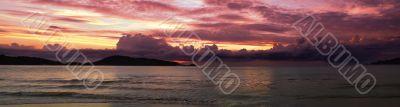 Patong Sunset Panorama