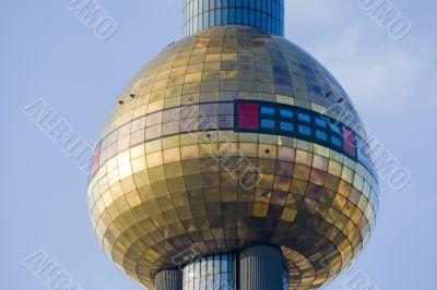 District heating Vienna of Hundertwasser forms