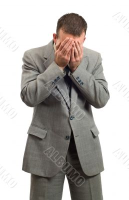 Crying Businessman