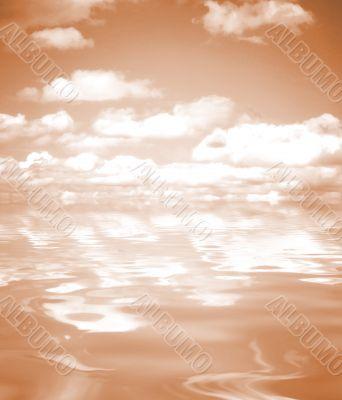 Sky reflexion