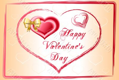 background happy valentines day illustration