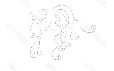 Beauty Logo Line Art