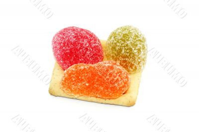 Fruit candy and baking