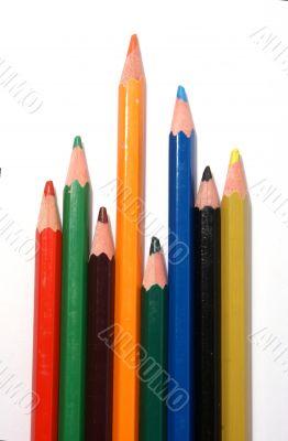 Pencil leadership concept