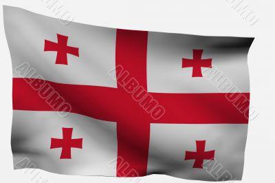 Georgia 3d Flag
