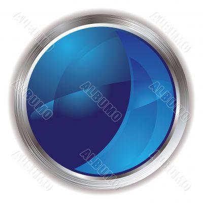 marble flake blue