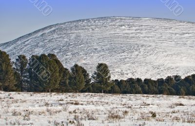 Seminsky mountain pass.
