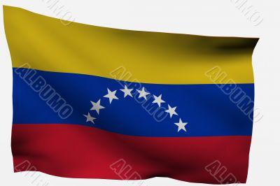 Venezuela 3d flag