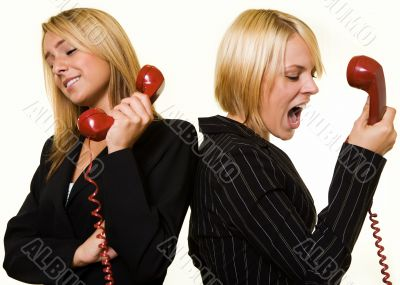 Argument over the phone