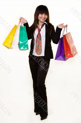 Girl shopper