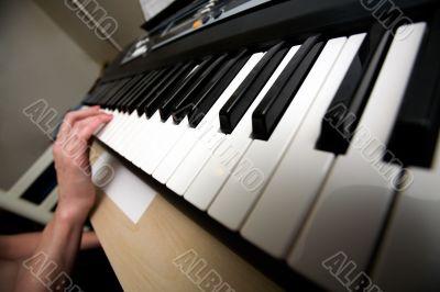 Keyboard practice
