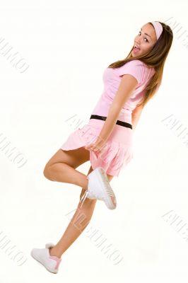 Pink attire