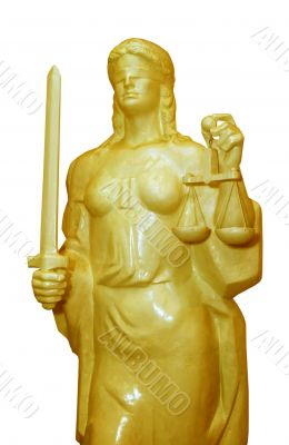 justice goddess Themis or Nemesis