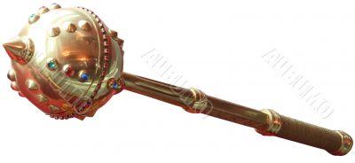 ceremonial mace of Hetmans of Ukraine