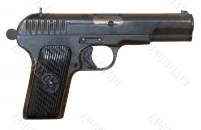 Soviet vintage personal pistol