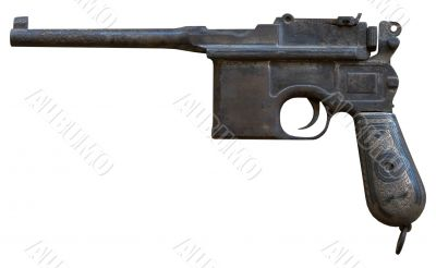 obsolete vintage personal pistol