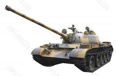 isolated soviet light tank