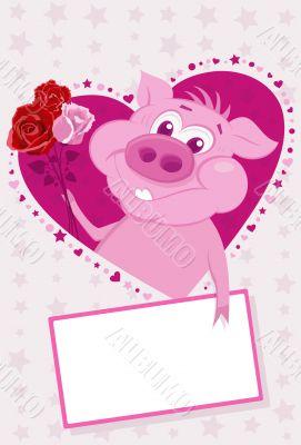 pig congratulates