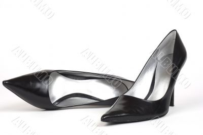 Black Women`s High-Heel Shoes 2