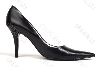 Black Women`s High-Heel Shoe