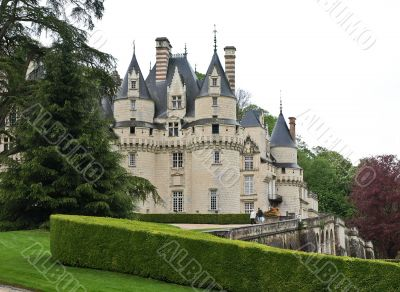 Classic french castle