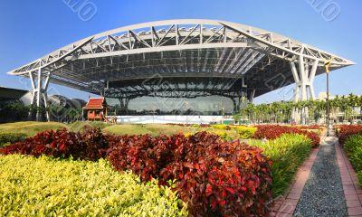 Bangkok Airport Garden
