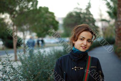 beaytiful girl outdoor portrait,