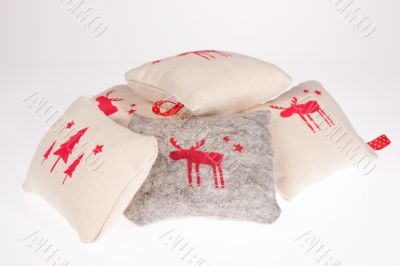 Five cotton pillow
