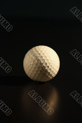 Golf Ball on black background -4