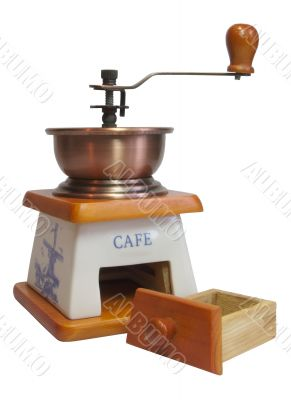 coffee-mill pull out