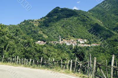 Passo del Cirone - Village in the Appennino (Italy)