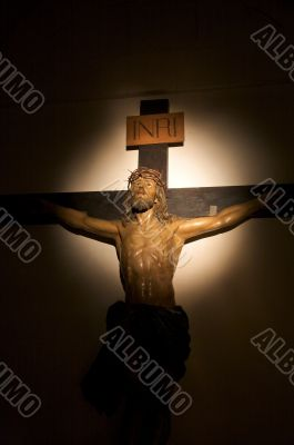 illuminated christ