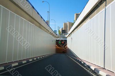 city tunnel access