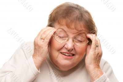 Senior Woman with Aching Head