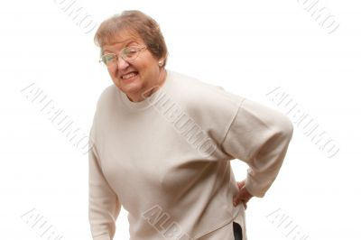 Senior Woman with Backache