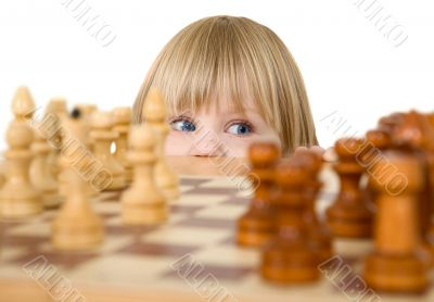 Child ang chess