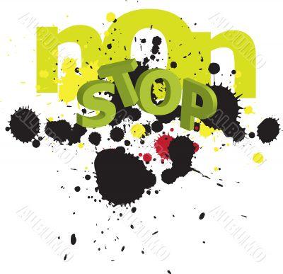 non-stop graphic element design