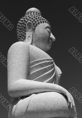 Phuket Buddha Grey