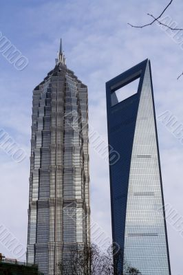 shanghai Architecture jinmao tower