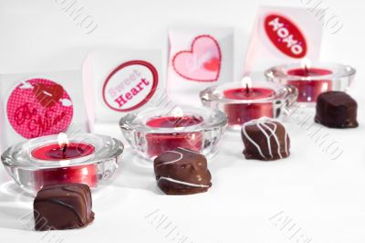 Line of Valentine`s day treats