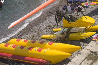Beach watercraft rental