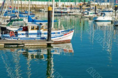 Luxury sail yacht