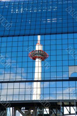Kyoto tower, Japan