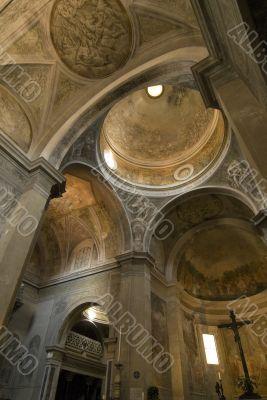Pietrasanta (Tuscany) - Interior of the Cathedral