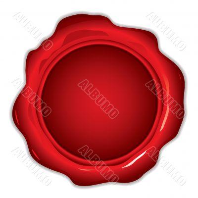 wax seal round