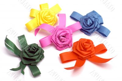 A lot of colours bows
